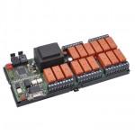 Schaltbox mit RS232 und Lichtleiter