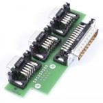 Adapterplatine zum Anschluss von Hardware